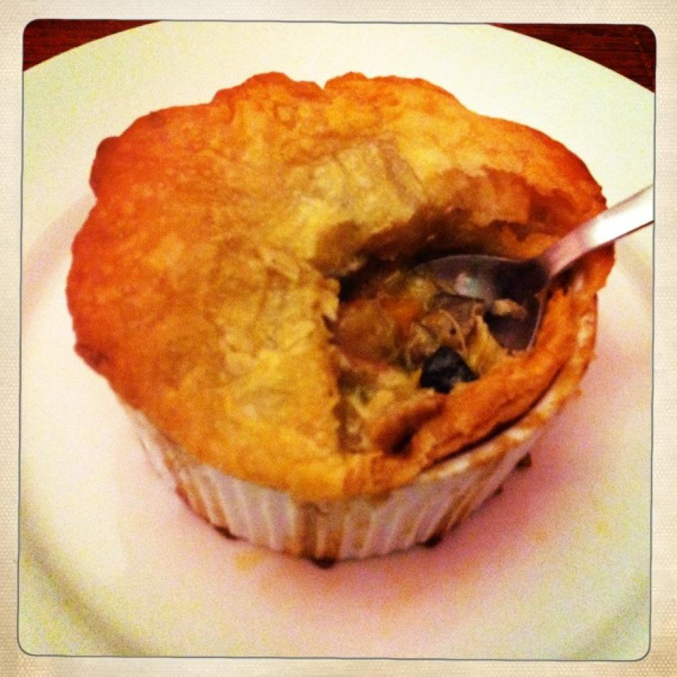 Chicken and Bacon Pot Pies with Wild Mushrooms | Delightful Nibbles