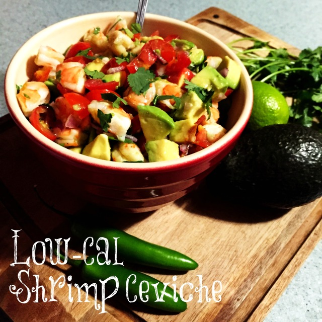 shrimp ceviche text